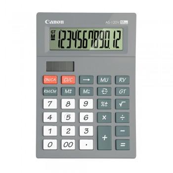 Canon AS-120V-GY Arc Design 12 Digits Calculator (Grey)
