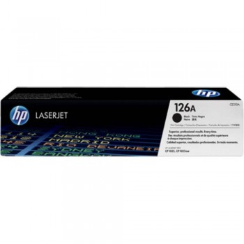 HP 126A Black LaserJet Toner Cartridge (CE310A)