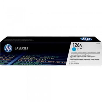 HP 126A Cyan LaserJet Toner Cartridge (CE311A)