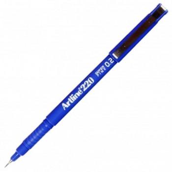 Artline EK-220 Writing Pen 0.2mm Blue