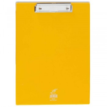EAST FILE PVC WIRE CLIPBOARD-YELLOW-2340F (Item No: B11-27 Y)