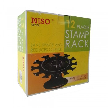 Niso Stamp Rack 12 Places
