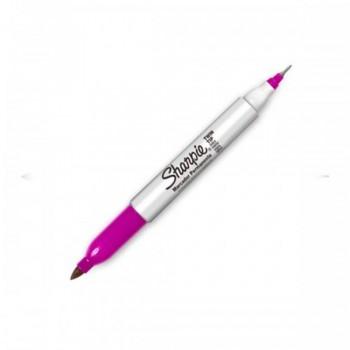 Sharpie Twin Tip Permanent Marker - Pink (Item No: A12-19 TT PK) A1R3B27