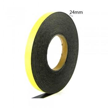 Double Sided Eva Foam Tape (Black) - 24mm X 8m