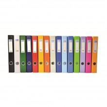 EMI PVC 50mm Lever Arch File F4 - Mix Color