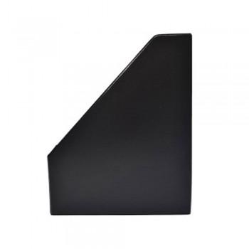 """3"""" PVC Magazine Box File - Black"""