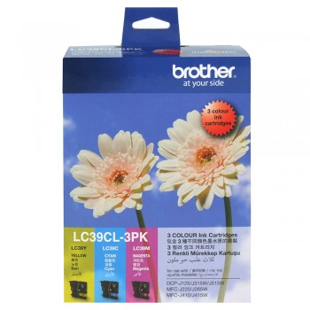 Brother LC-39 Color Value Pack Ink Cartridge