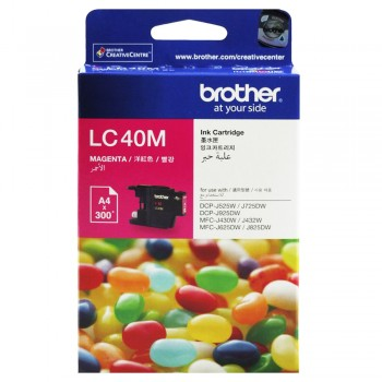 Brother LC-40 Magenta Ink